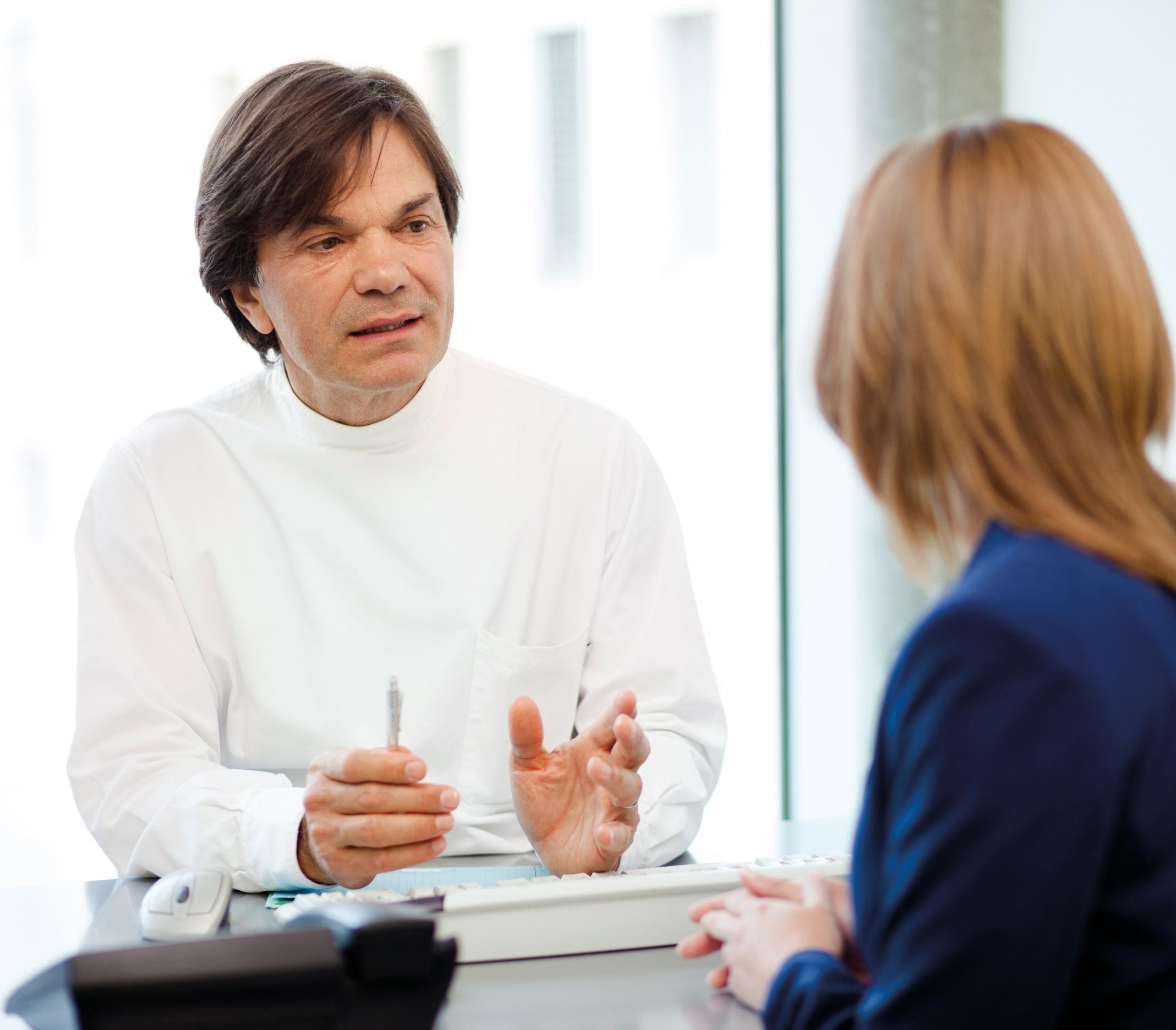 Interview du Dr Luigi L. Polla par Laurence Gemperle  journaliste pour la RTS